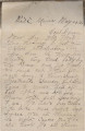 Letter from Ezekiel Archey and Ambrose Haskins, convict laborers at Pratt Mines in Jefferson County, Alabama, to Reginald Dawson, president of the Alabama Board of Inspectors of Convicts.