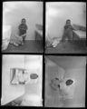 Set of negatives by Clinton Wright including children, going-away party for James Chapman, and Happytime Club, 1964
