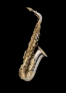 Alto saxophone owned and played by Charlie Parker