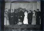 Junior Farce in Holmes Hall chapel, Pomona College