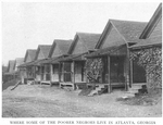 Where some of the poorer Negroes live in Atlanta, Georgia