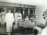 Photograph of women at an event