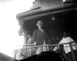 President Warren G. Harding in Denver