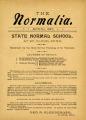 The Normalia, 1897-04