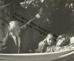 John Pratt, Marie-Christine Dunham Pratt and Katherine Dunham in Valeska's Garden