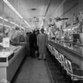 Civil rights protesters at a lunch counter