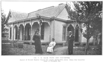 Dr. T.H. Mack, wife and daughter; Pastor of Second Baptist Church for nearly twenty-five years; Owns this beautiful home at Franklin, Ky