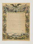 Thumbnail for Commemorative Print of the Emancipation Proclamation, 1864