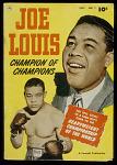 Joe Louis: Champion of Champions Comic Book