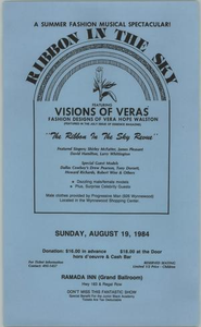 Flyer: Ribbon in the Sky Victory Celebration Block Party