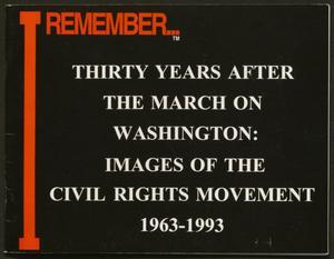 Booklet: I Remember