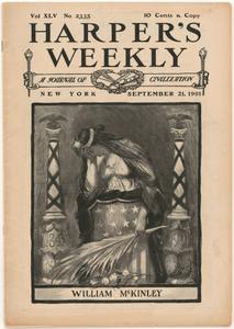 Harper's Weekly -- Assassination of William McKinley