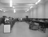 Interior of the Union Bank and Trust Company at 60 Commerce Street in Montgomery, Alabama.