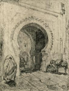 Gate in Tangier