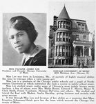 Miss Pauline James Lee; President and founder Chicago University of Music; 3672 Michigan Ave., Chicago, Ill