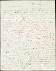 Letter from Evelina A. S. Smith, Hingham, [Mass.], to Caroline Weston, July 30, 1839
