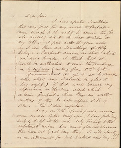 Letter from Wendell Phillips to Maria Weston Chapman, [1845?]