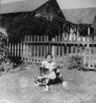 Child in walker