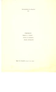 Student family histories: Tinsdley, Charlie (McKibben, Thornton)
