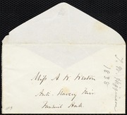 Letter to] Anne Warren Weston [manuscript
