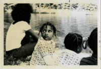 Children and Others at a Lake