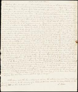 Letter from Lucretia Mott to William Lloyd Garrison