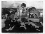 [Making flags for military use in the quartermaster corps depot, Philadelphia, Penn.]