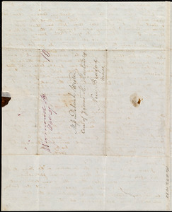 Letter from Anne Warren Weston, Weymouth, [Mass.], to Deborah Weston, Oct. 27, 1841