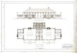 Front elevation and first floor plan for YMCA building type I