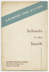 Answers for Action: Schools in the South