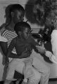 Young boy getting a tuberculosis skin test at the county health department in Mobile, Alabama.
