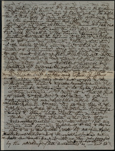 Partial letter from Maria Weston Chapman, [New York City, NY], to Anne Greene Chapman Dicey, [1863?]