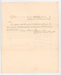 1823 Proposed Amendment to the Constitution by the State of Georgia