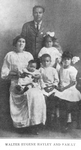 Walter Eugene Hayley and family