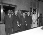 Community Federal Savings and Loan Association ribbon cutting ceremony, Nashville, Tennessee, 1962 February 28