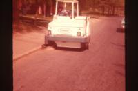 Man Driving Construction Equipment