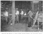 Training the hands to useful work; Gaudet Normal and Industrial School; [New Orleans, Louisiana.]