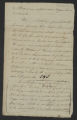 Session of November-December 1789: House Bills: Bill to Emancipate Certain Negroes Therein Mentioned (with Petitions). November 12