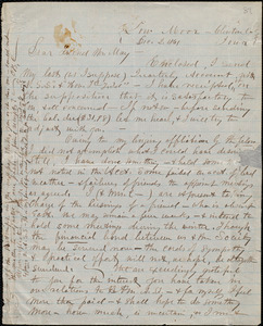 Letter from C. B. Campbell, Low Moor, Clinton Co., Iowa, to Samuel May, Jr., Dec. 2, 1861