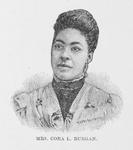 Mrs. Cora L. Burgan (nee Moore). Pianist and Teacher