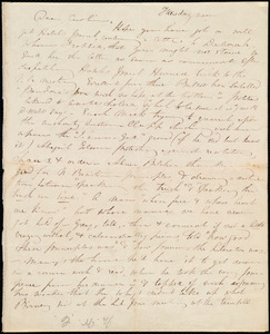 Letter from Maria Weston Chapman, [Boston?, Mass.], to Caroline Weston, Tuesday noon