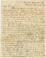 Letter from Governor Clement C. Clay in Tuscaloosa, Alabama, to Major General Thomas S. Jesup in Tampa Bay, Florida.