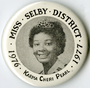 Miss Selby district button
