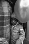 Thumbnail for A child holds a balloon, Los Angeles, 1983