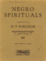 Hard trials : Negro spiritual