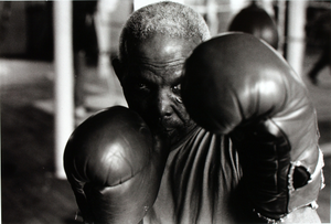 Unidentified Boxer, Silver Fox Gym, Ancoats, Manchester, UK
