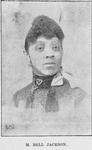M. Bell Jackson. Singer