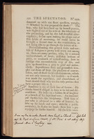 Annotations in the Spectator, 1794-1812.