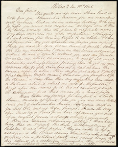 Letter from Edward Morris Davis, Philad[elphia], [Penn.], to Maria Weston Chapman, 2 m[onth] 10th [day] 1846