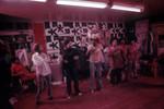 Six dancers rehearsing